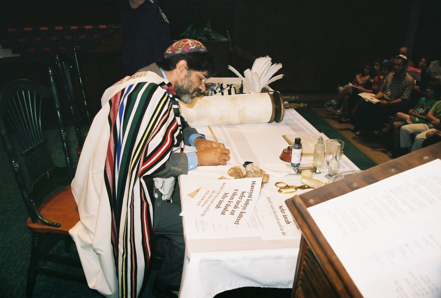 Rabbi Kevin Hale 9 07 at Torah Siyyum