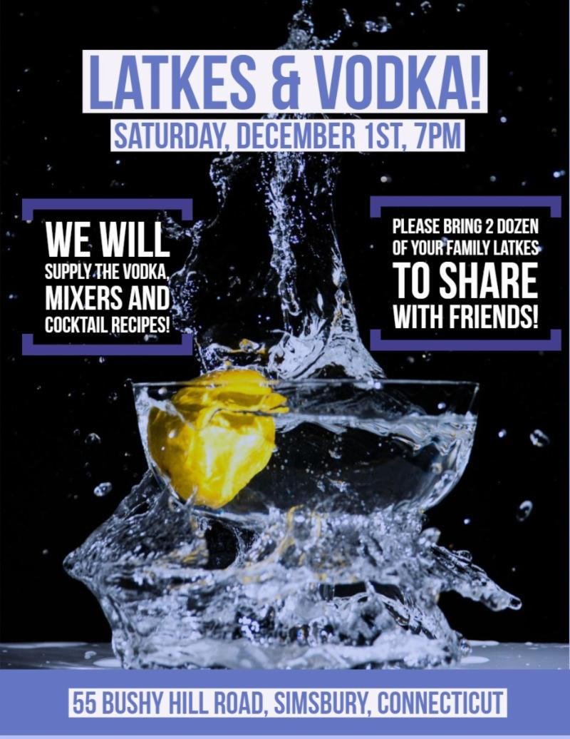 Latkes and Vodkas