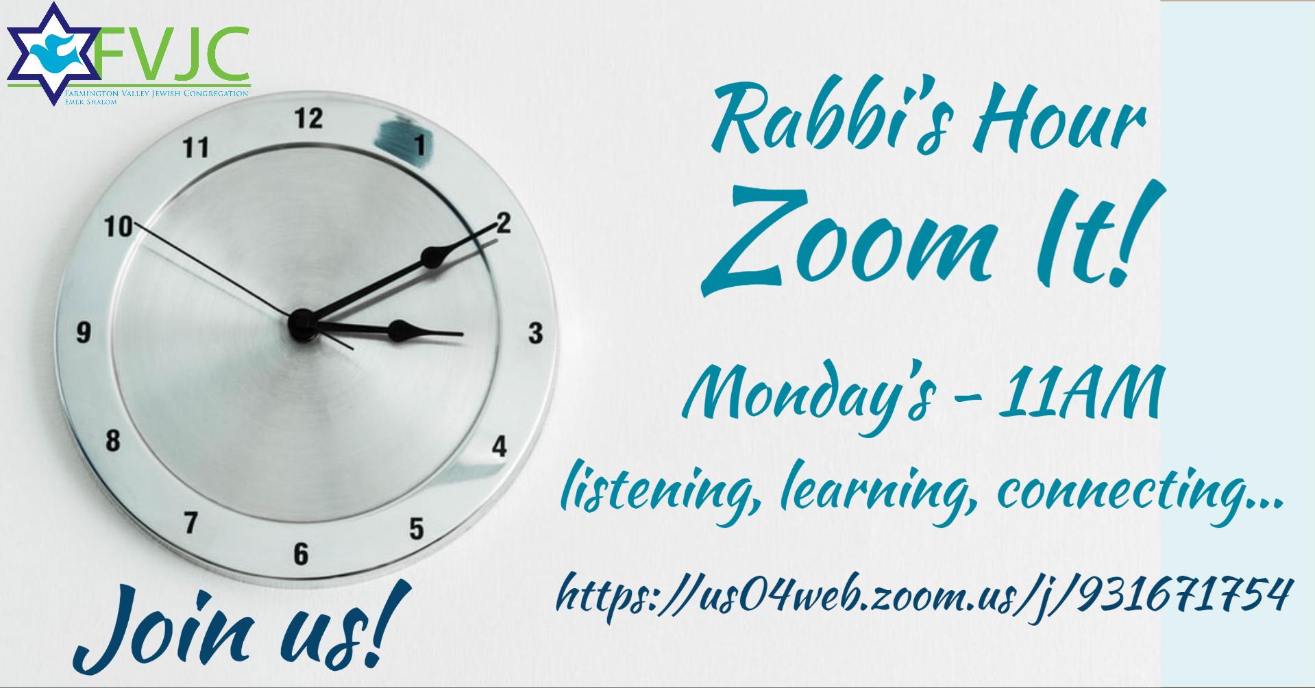 rabbis hour