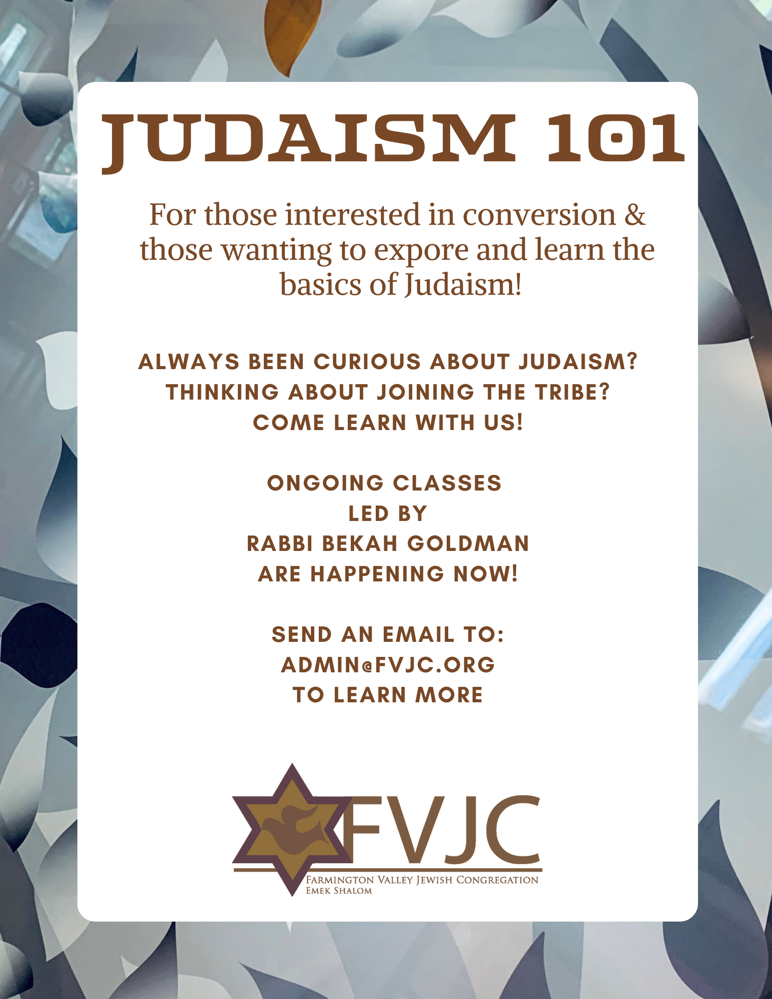Judaism 101 (1)