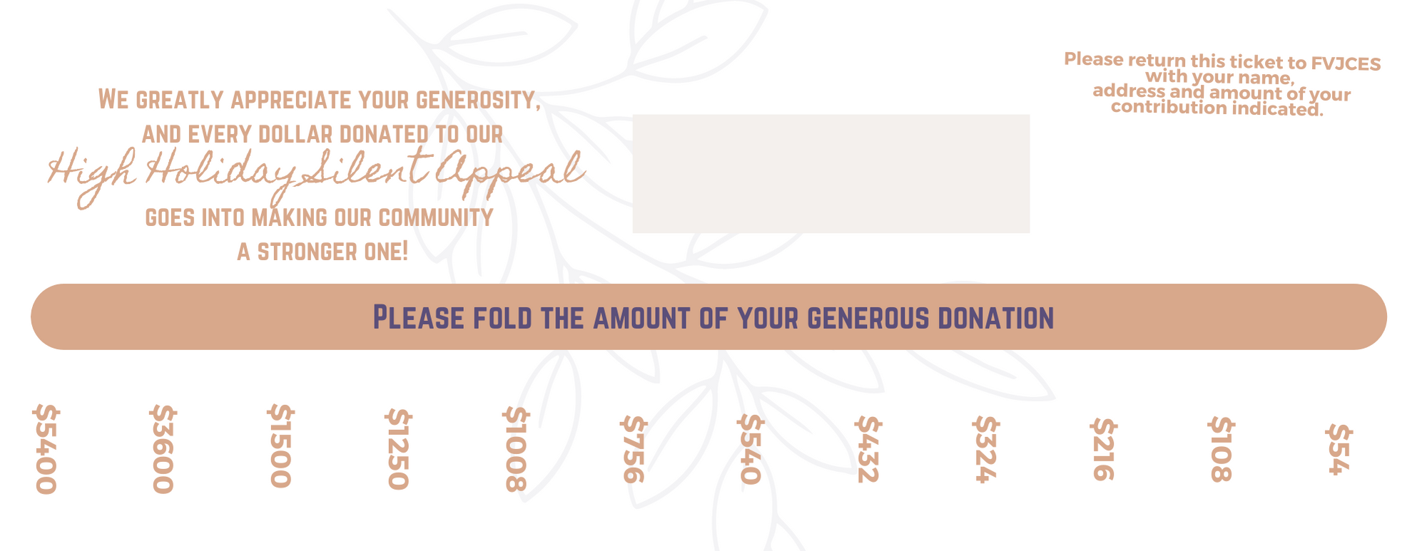 Click to donate to our 5782 Yom Kippur Appeal